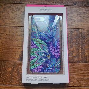 NIB Vera Bradley iPhone Case 8plus/7plus/6plus